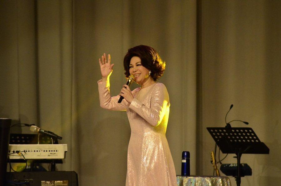 蔡琴福音見證演唱會上有動人的樂曲,也有生命的信息。(photo by郭恩孝/台灣