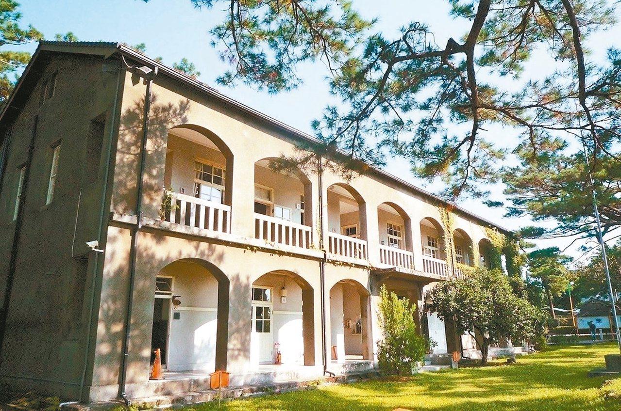 松園別館是花蓮代表性的古蹟建築。 圖/松園提供