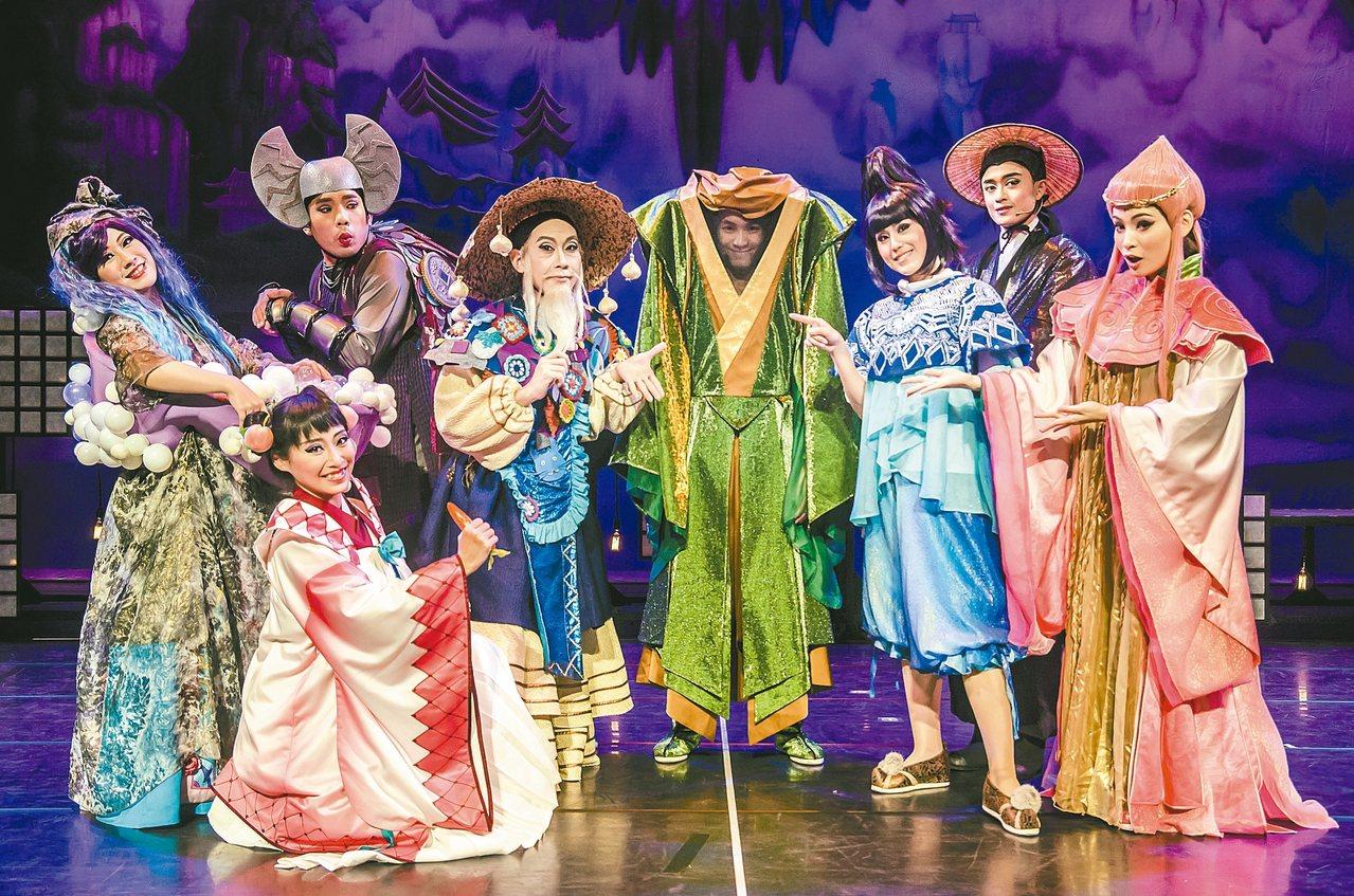 兒童劇「晴空小侍郎」是一部「不怕鬼的鬼故事」。 圖/風神寶寶劇團提供