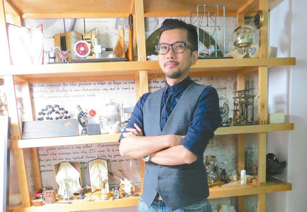 賽先生科學工廠創辦人林厚進 圖/何秀玲、賽先生科學工廠