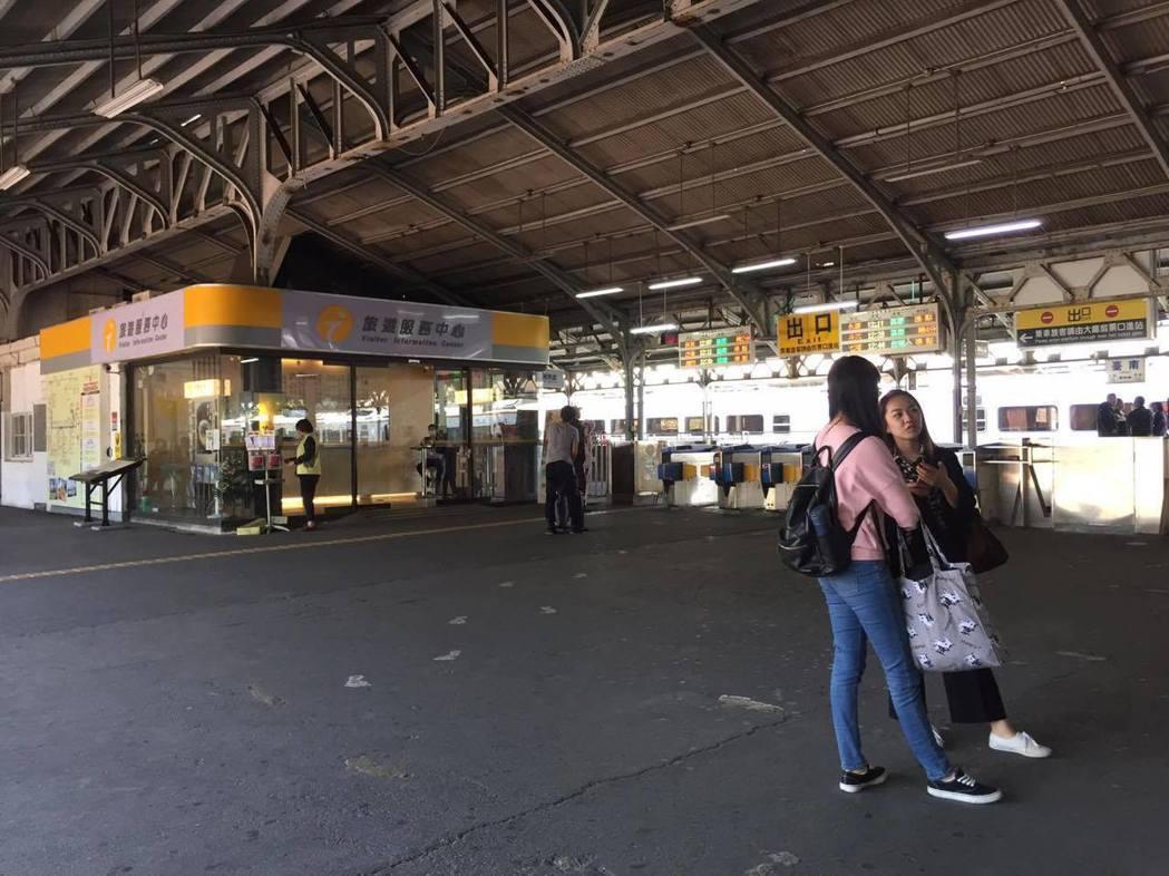 台南車站為國定古蹟之一,從1900興建至今,已有百年歷史。記者綦守鈺/攝影