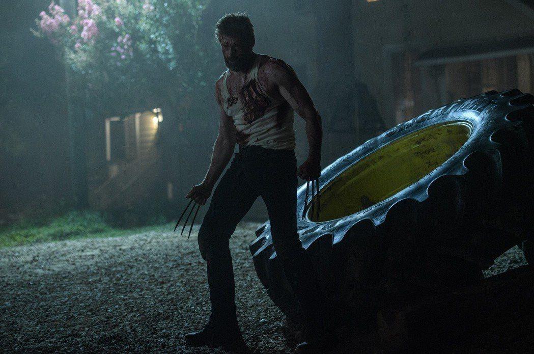 休傑克曼將在「羅根」中演出最後一次金鋼狼。圖/福斯提供