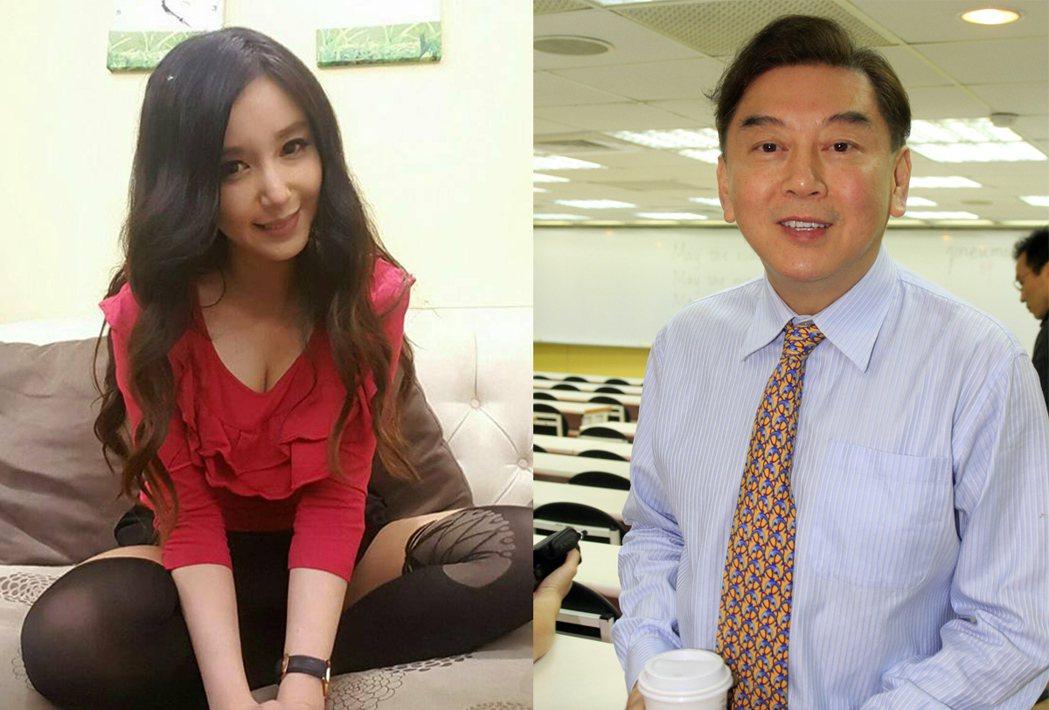 前夫高國華(右)不付贍養費,蔡郁璇(左)被逼出心臟病。 圖/擷自我是蔡郁璇臉書、