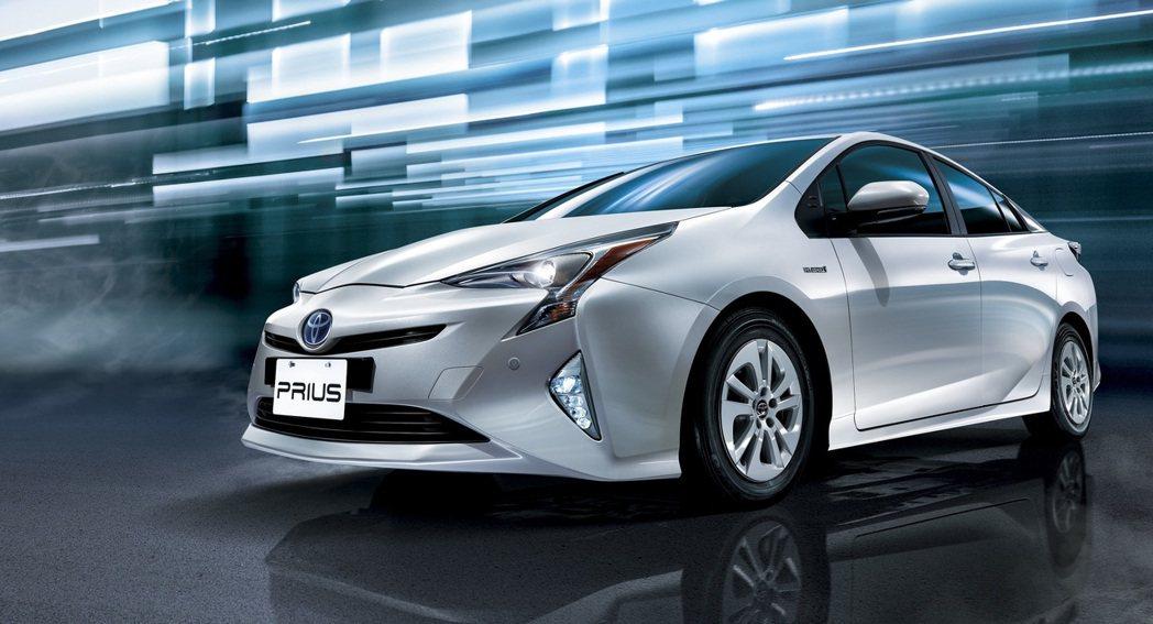第四代TOYOTA Prius。 圖/和泰汽車提供
