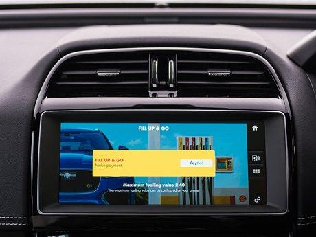 Jaguar與殼牌機油合作 推出世界第一個車載付費系統