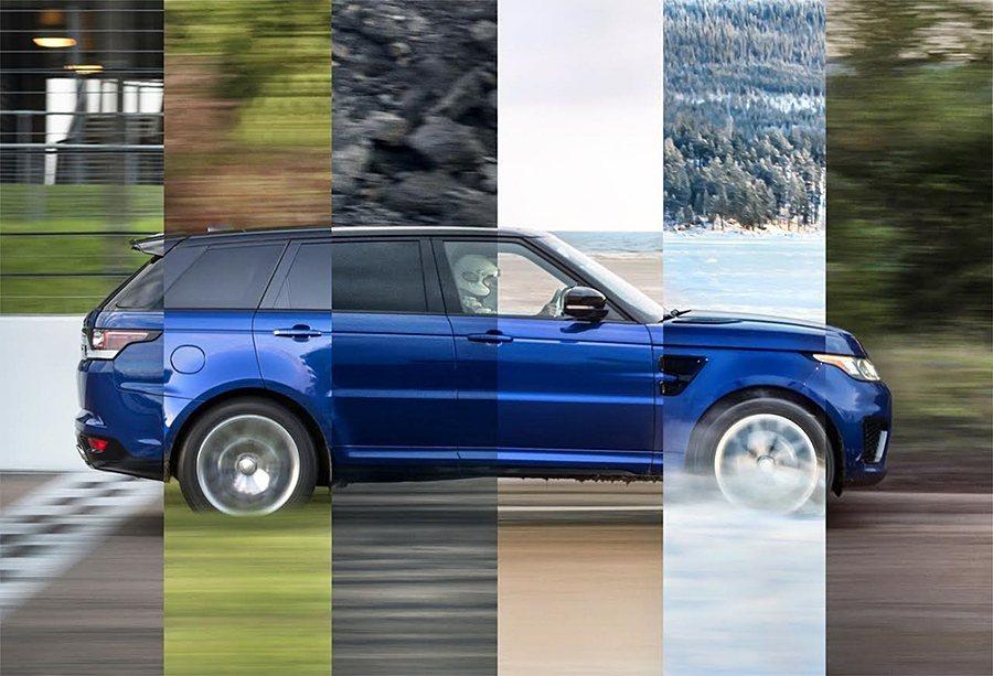 超強跑旅Range Rover Sport SVR展現全地形加速性能。 Land Rover提供