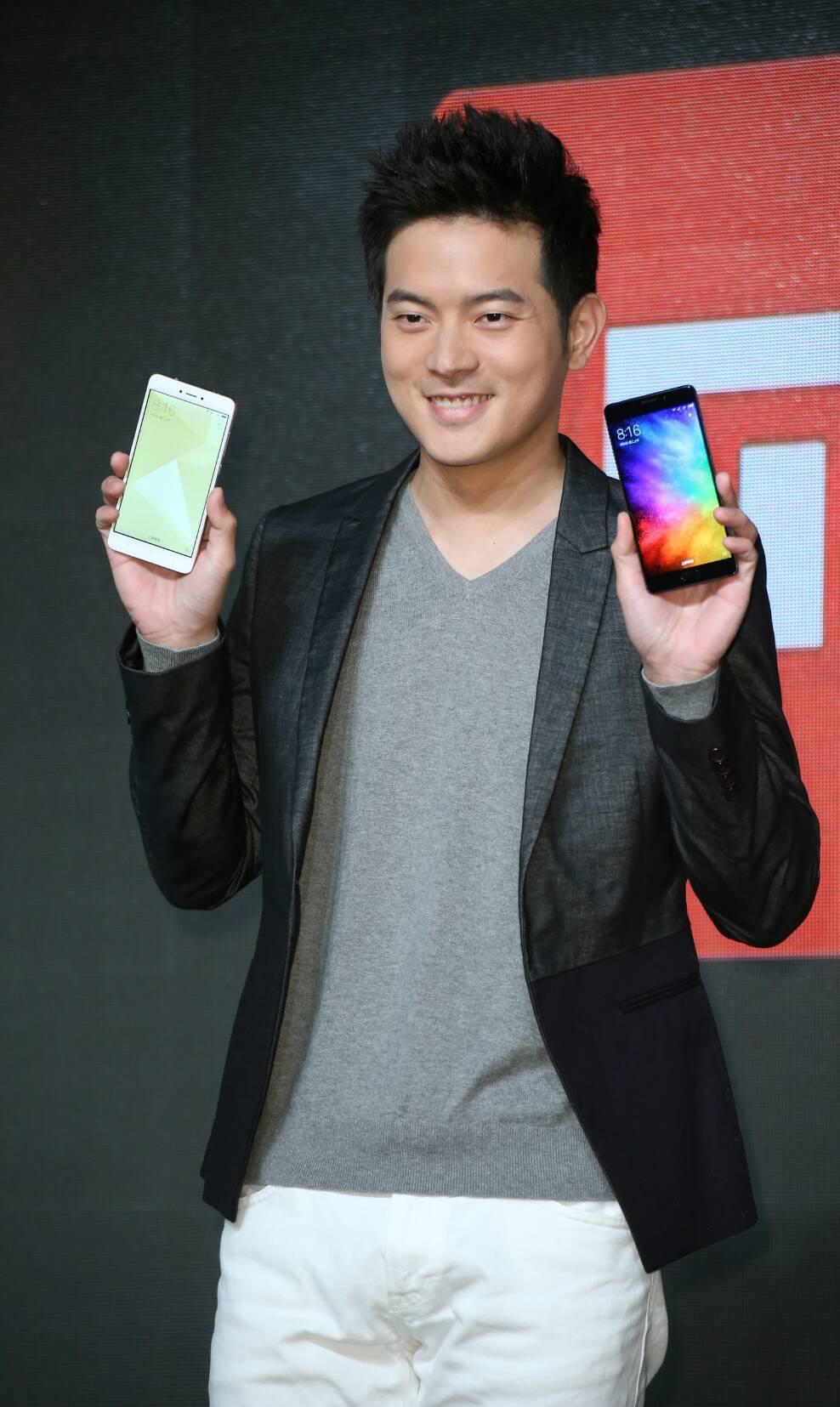 宥勝出席手機活動。記者陳立凱/攝影