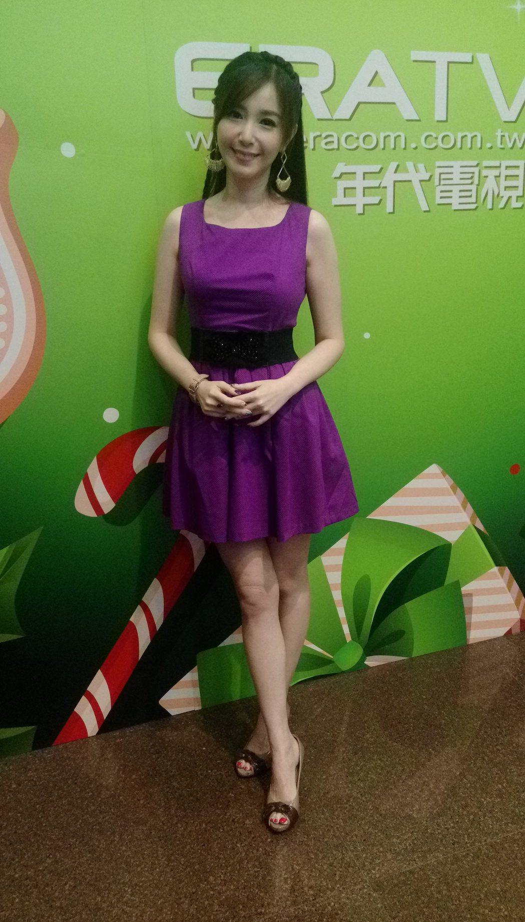 蔡郁璇上JET「命運好好玩」。記者林怡秀/攝影
