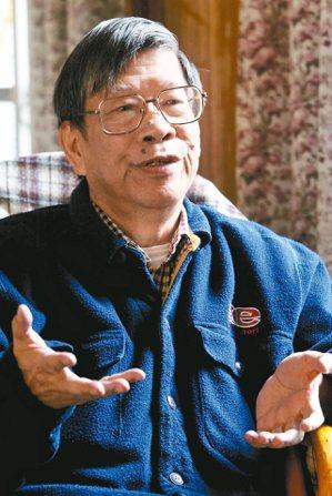 鄭清文曾獲環太平洋銅山文學獎,為短篇小說大家。 圖/本報資料照片