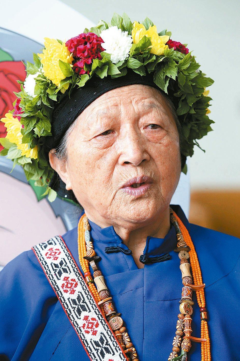 「不想看到本身的民族消逝在世界上。」今年80歲的台東卑南族花環部落黉舍校長林清美...