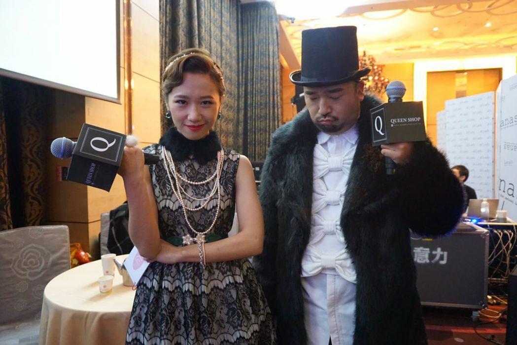 Lulu(左)與阿達(右)兩人被傳已交往三年多。 圖/擷自Lulu臉書