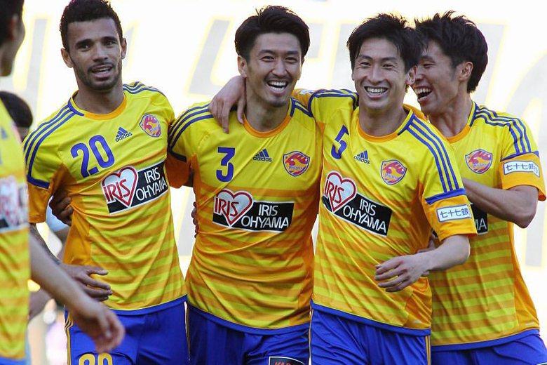 日本東北的仙台七夕隊,成立的資本額大約四億五千萬日幣,在球隊成立後第十年開始損益平衡。 圖/取自ベガルタ仙台