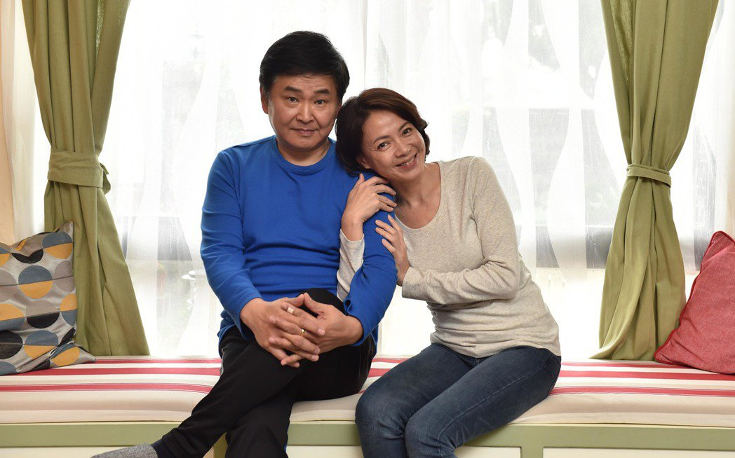 賀一航(左)、柯淑勤合作「酸甜之味」。圖/TVBS提供