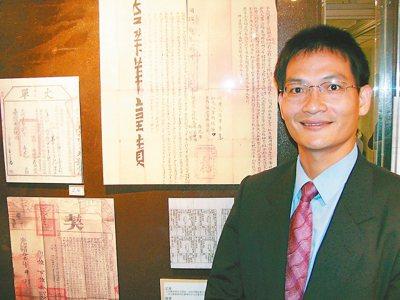 新北市地政局副局長王聖文從基層地政人員做起,在樹林地政事務所主任任內,曾籌畫台北...