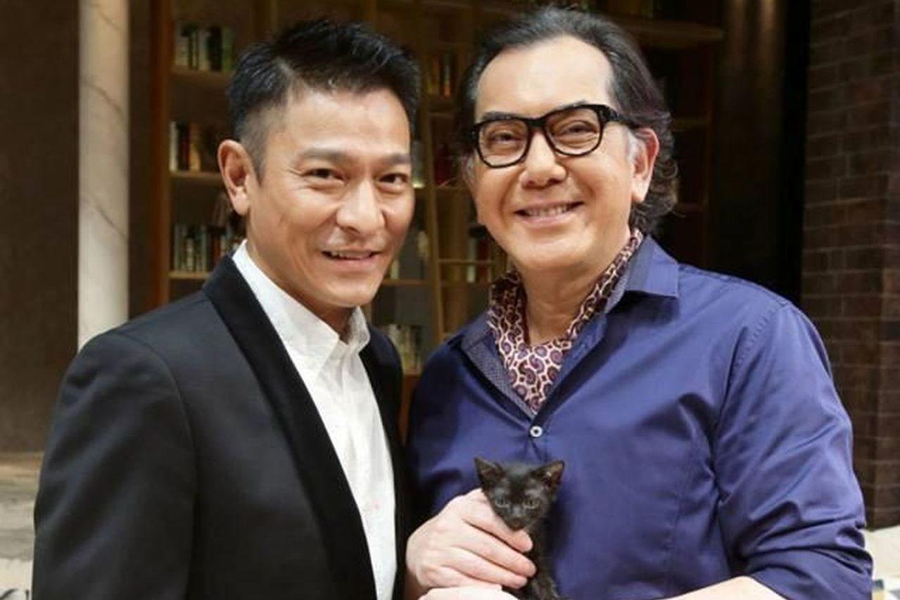 劉德華(左)曾仗義相挺,助黃秋生(右)創辦劇團。 圖/擷自臉書