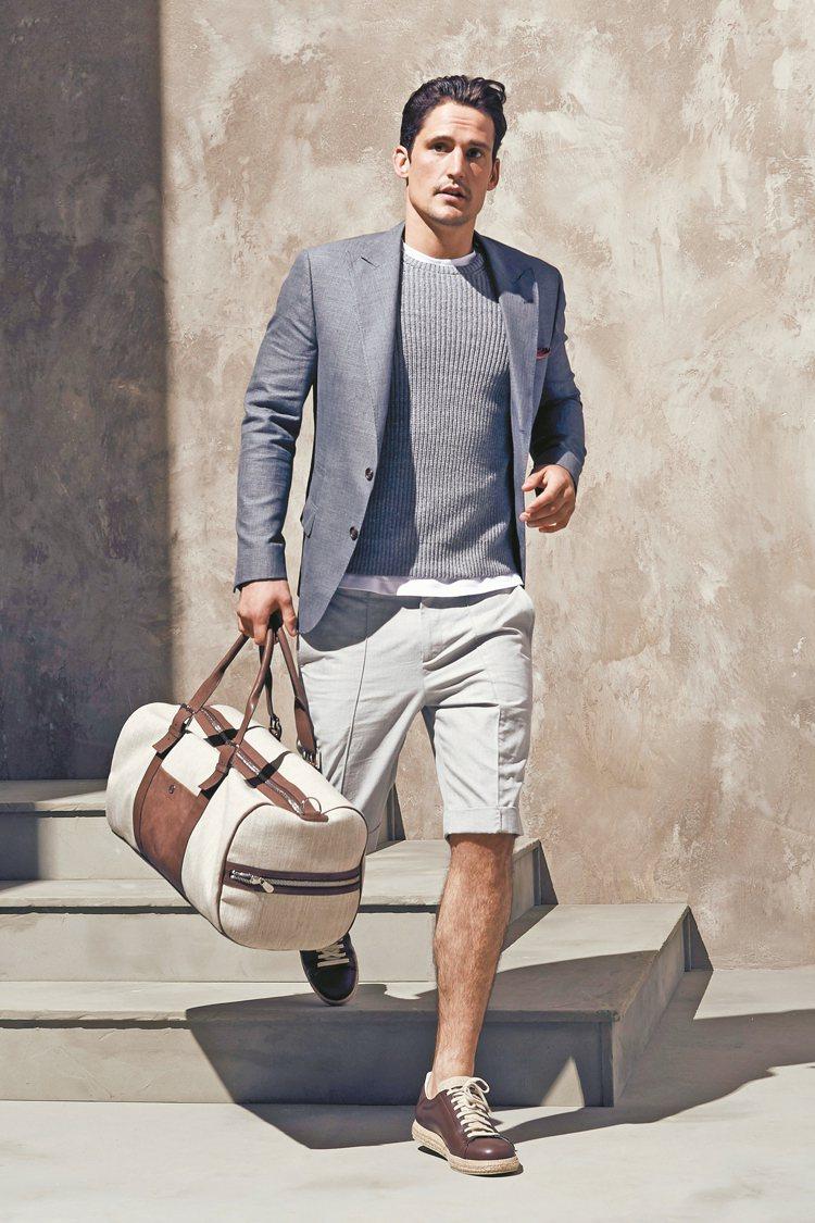 在這年代,不需要犧牲舒適度去迎合時尚或尊嚴。 圖/BRUNELLO CUCINE...