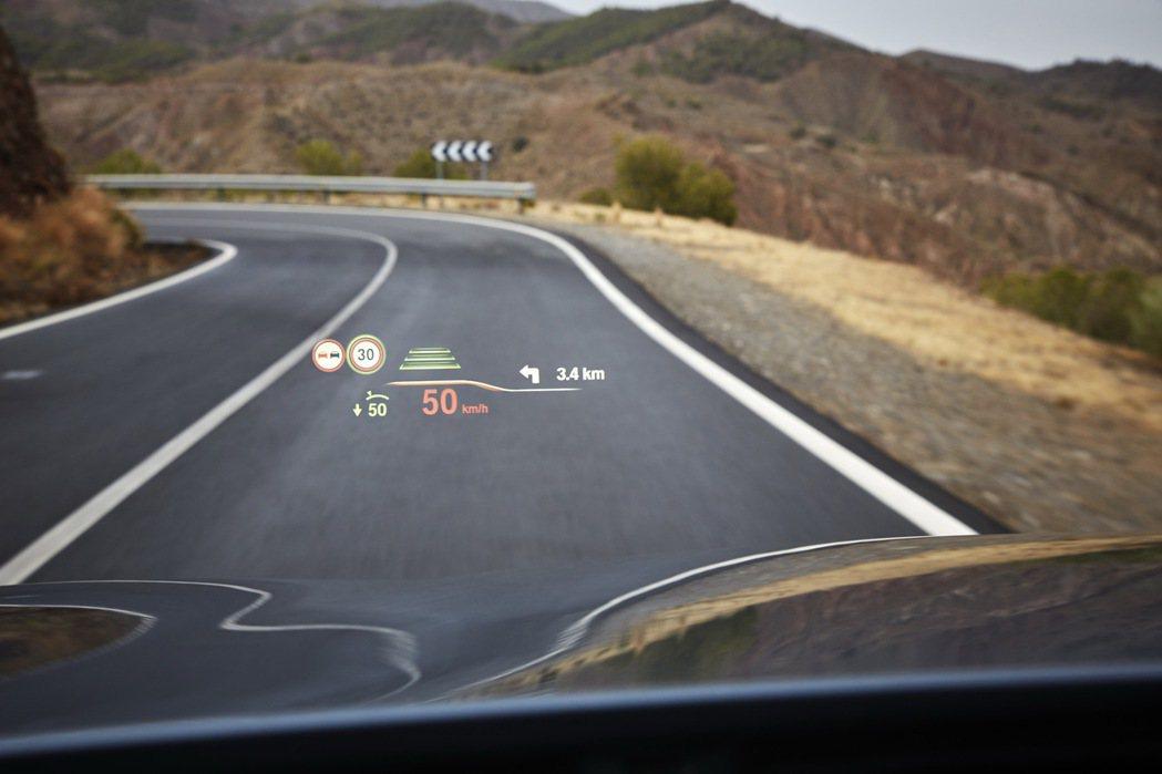 投影面積增大75%的全彩抬頭顯示器 圖/汎德提供