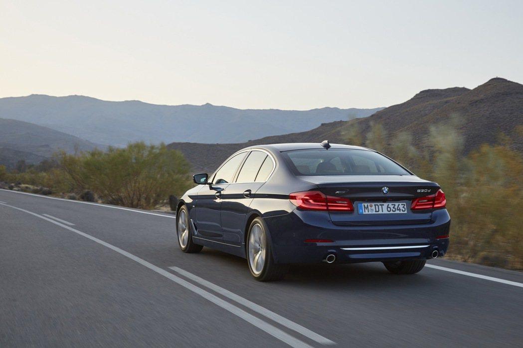 G30世代全新5系列售價從248萬到386萬元。 圖/汎德提供