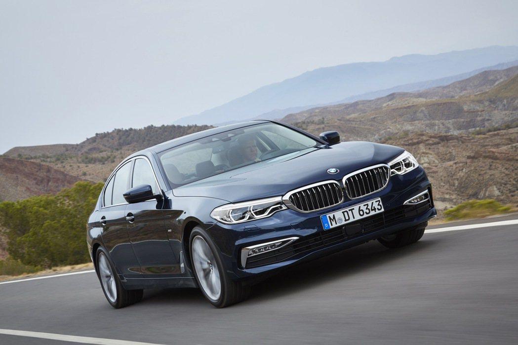 全新BMW 5系列正式在台發表。 圖/汎德提供