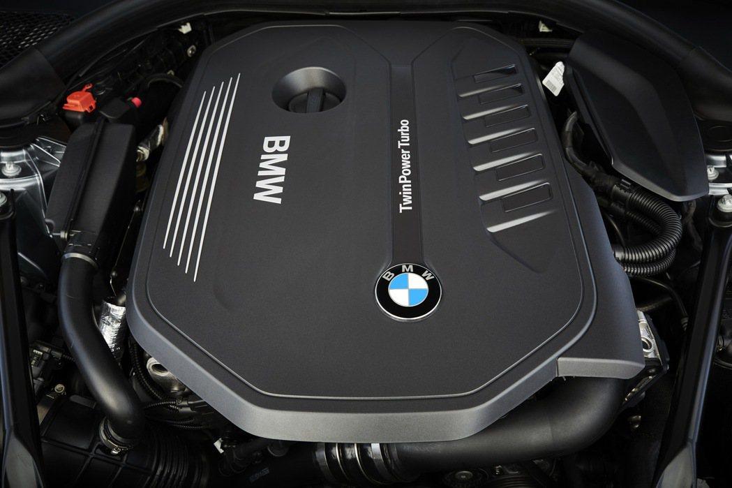 全新世代BMW TwinPower Turbo直列六缸汽油引擎。 圖/汎德提供