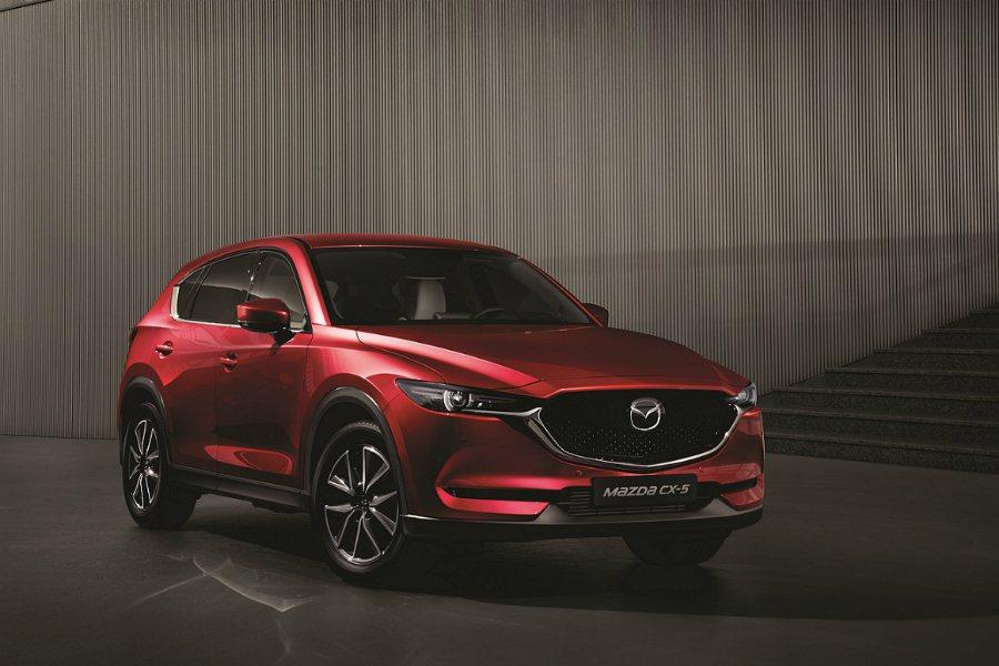 All-new Mazda CX-5 休旅車預接單價為 102 萬起。 Mazd...