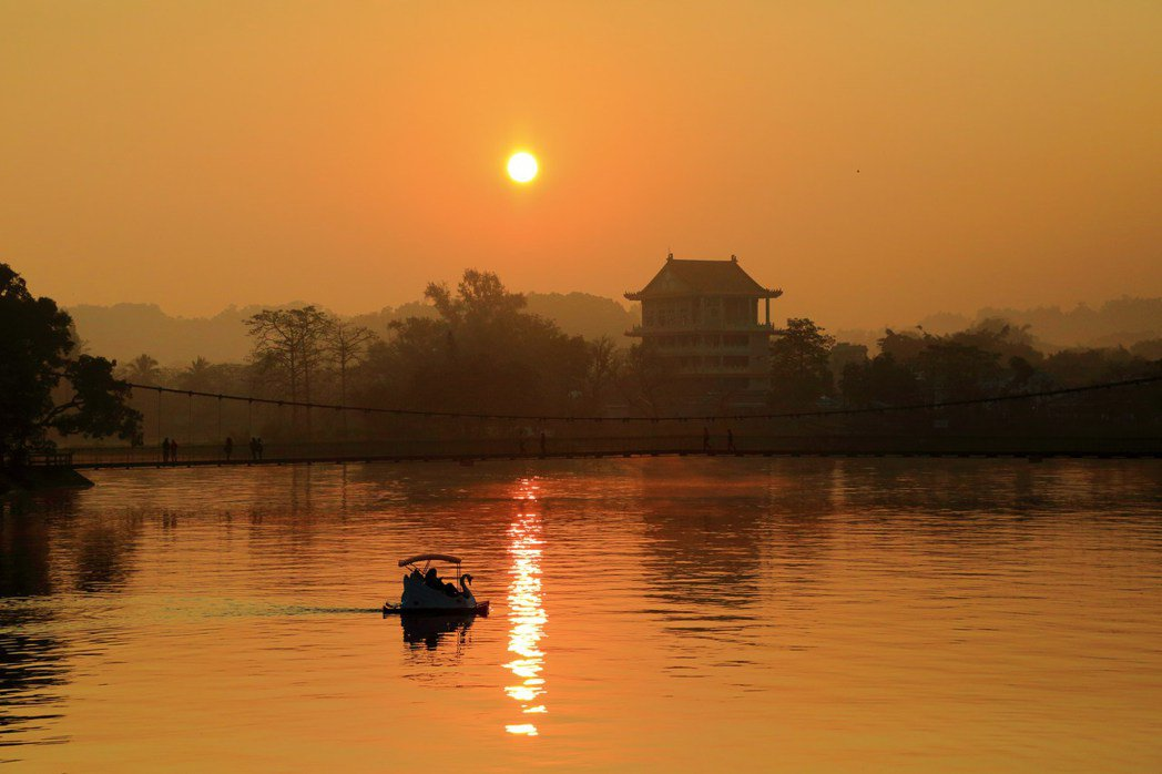 台南市虎頭埤風景區推出春天有約。圖/虎頭埤提供