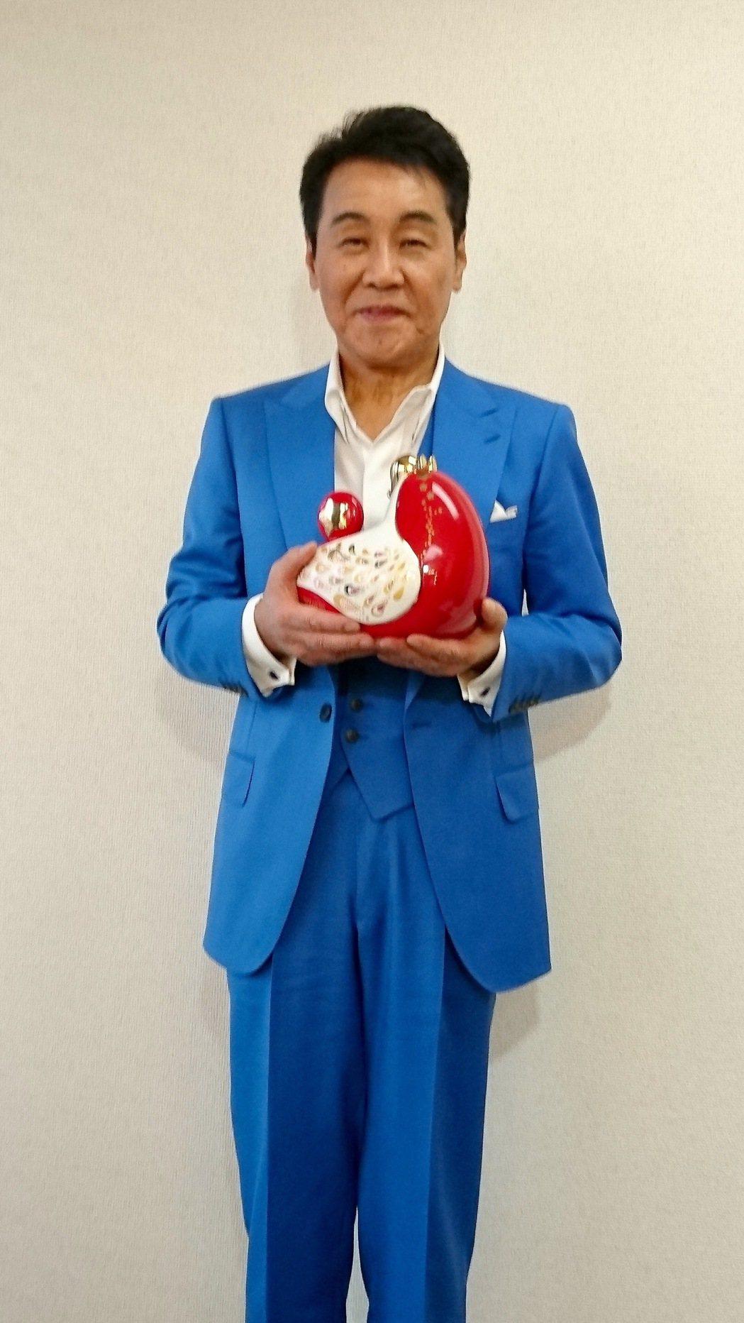 五木寬將在27、28日於台北國際會議中心舉行演唱會。圖/旭本國際提供
