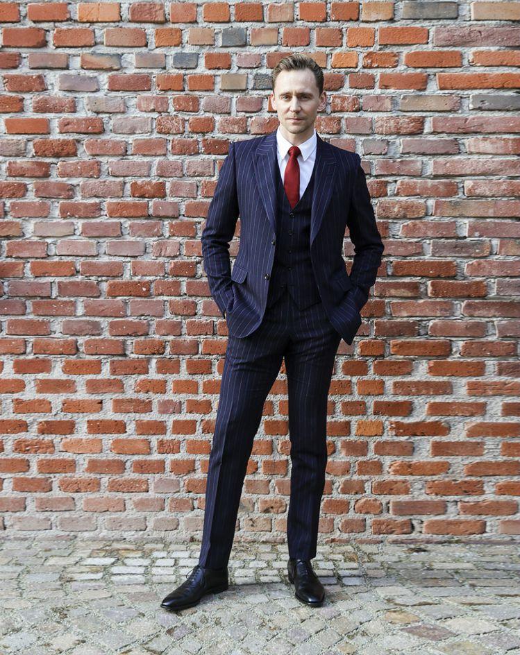 英國男星湯姆希德斯頓。圖/Gucci提供