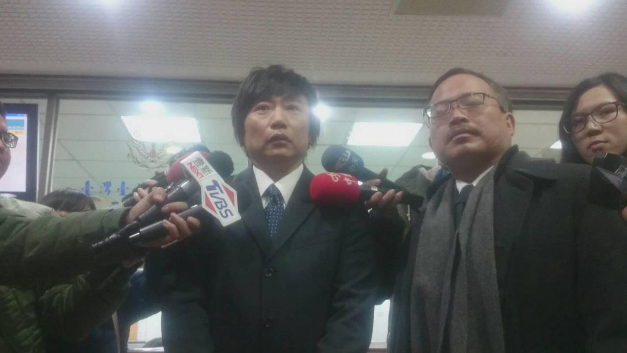 秦偉出庭說,「檢察官沒有證據就起訴我。」。記者王聖藜/攝影