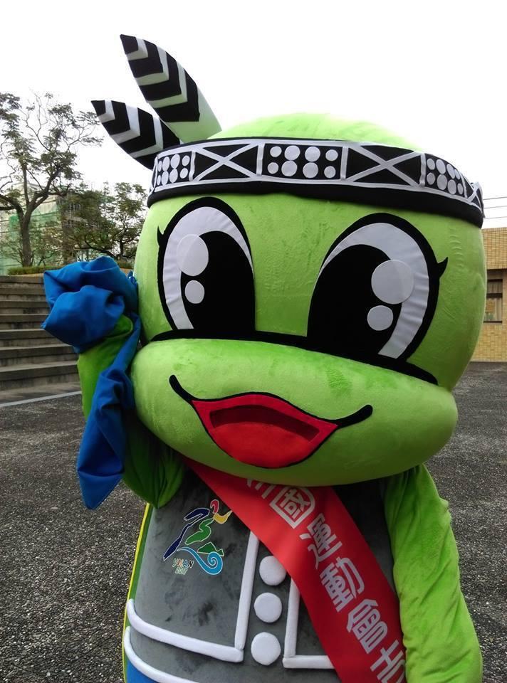 宜蘭全運會的吉祥物「古弟」音似原住民語的生殖器,引起網友瘋狂討論。記者吳佩旻/翻...