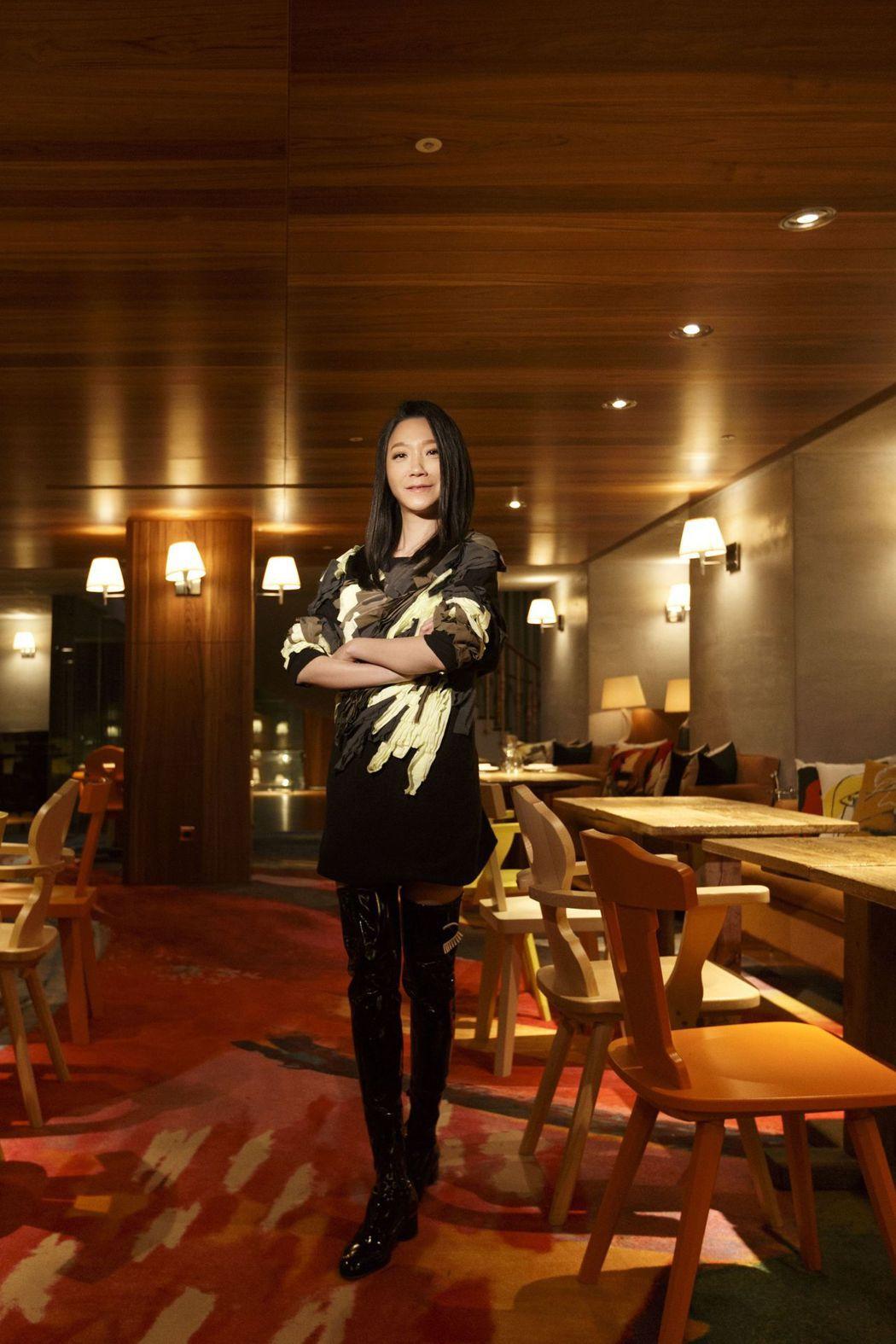 曲家瑞為S Hotel設計門面。圖/華研提供