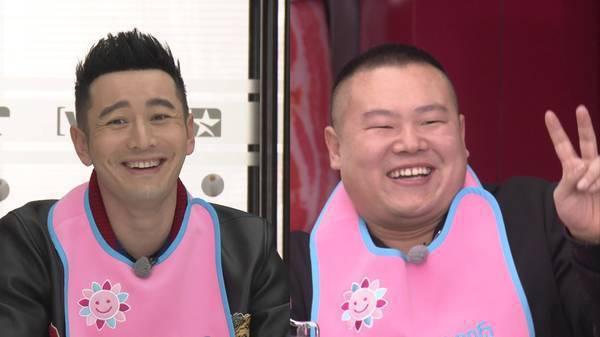 黃曉明與岳雲鵬(右)頭身比例竟然一樣都是7.3。圖/取自鳳凰娛樂