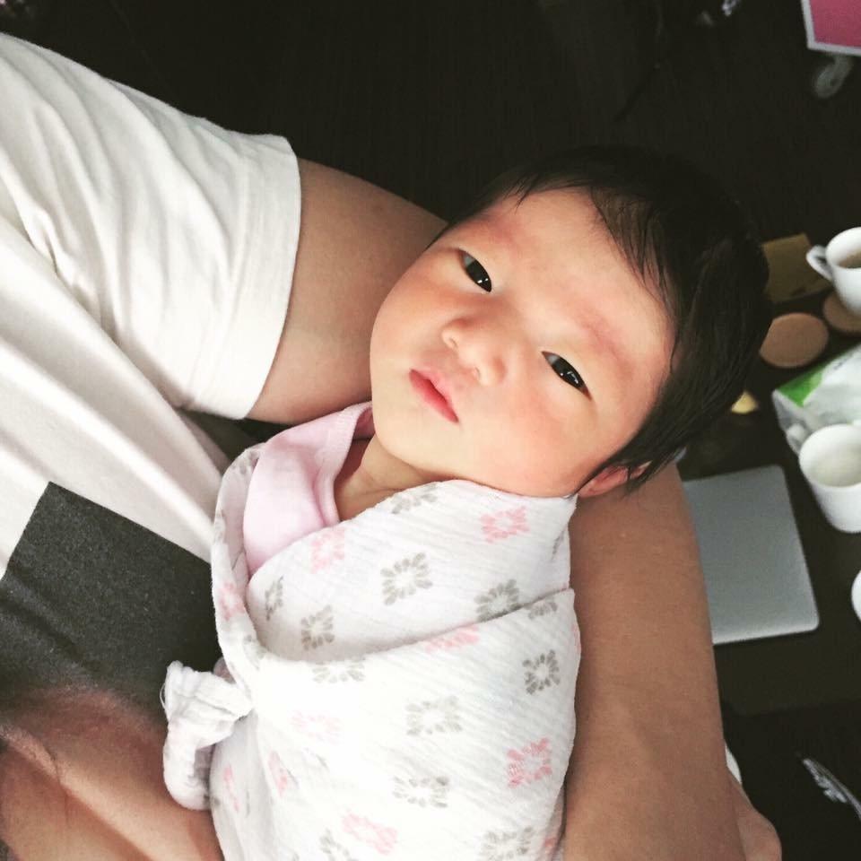 隋棠最近生了女兒。  圖/摘自臉書