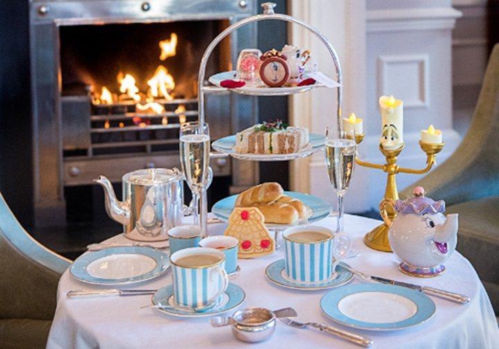 英國倫敦的飯店推出美女與野獸夢幻下午茶。圖/轉載自The Kensington ...
