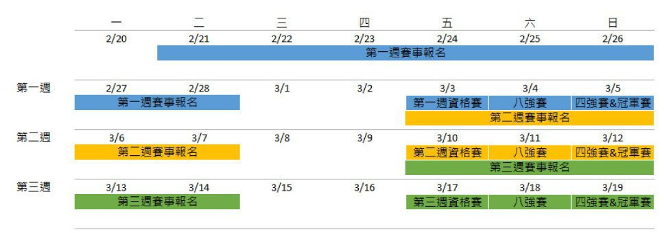 圖/取自賽事活動頁面