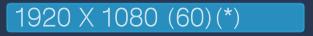 解析度1920x1080(60)(*)