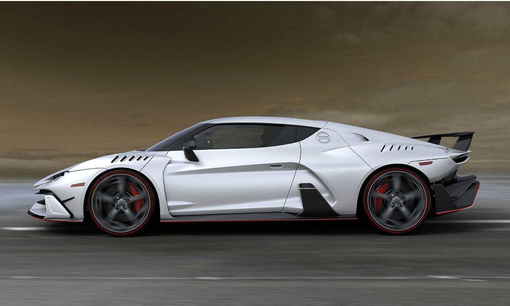 Italdesign Speciali 僅生產五輛,全車並採用碳纖維材質,完全屬...