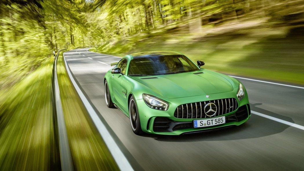 Mercedes-AMG GT R今年將席捲台灣性能車壇。 圖/Mercedes...