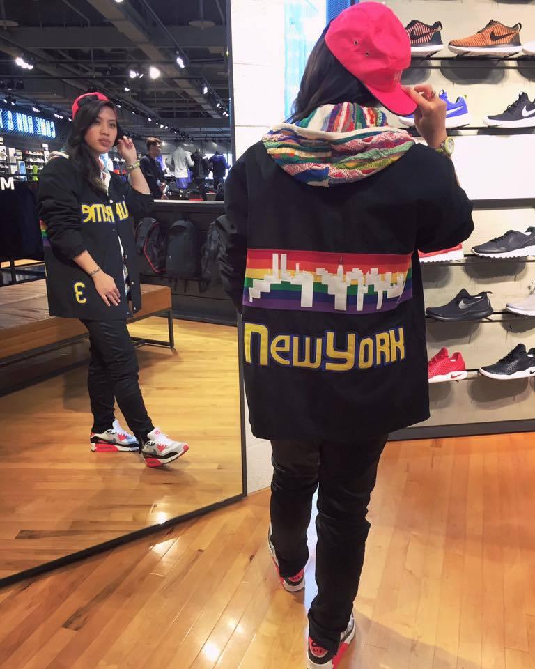葛仲珊就是歌裡的「球鞋娛蚣」。圖/摘自Miss Ko臉書