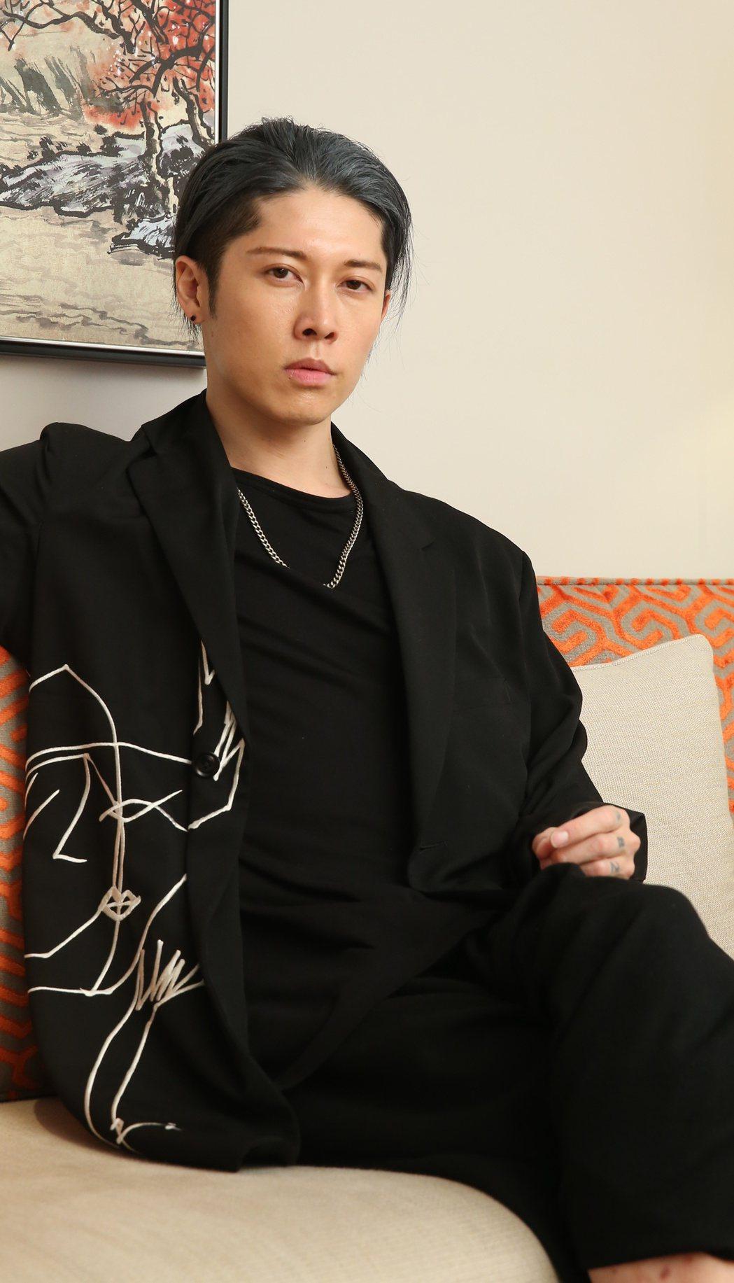 日本搖滾藝人miyavi來台。記者陳立凱/攝影