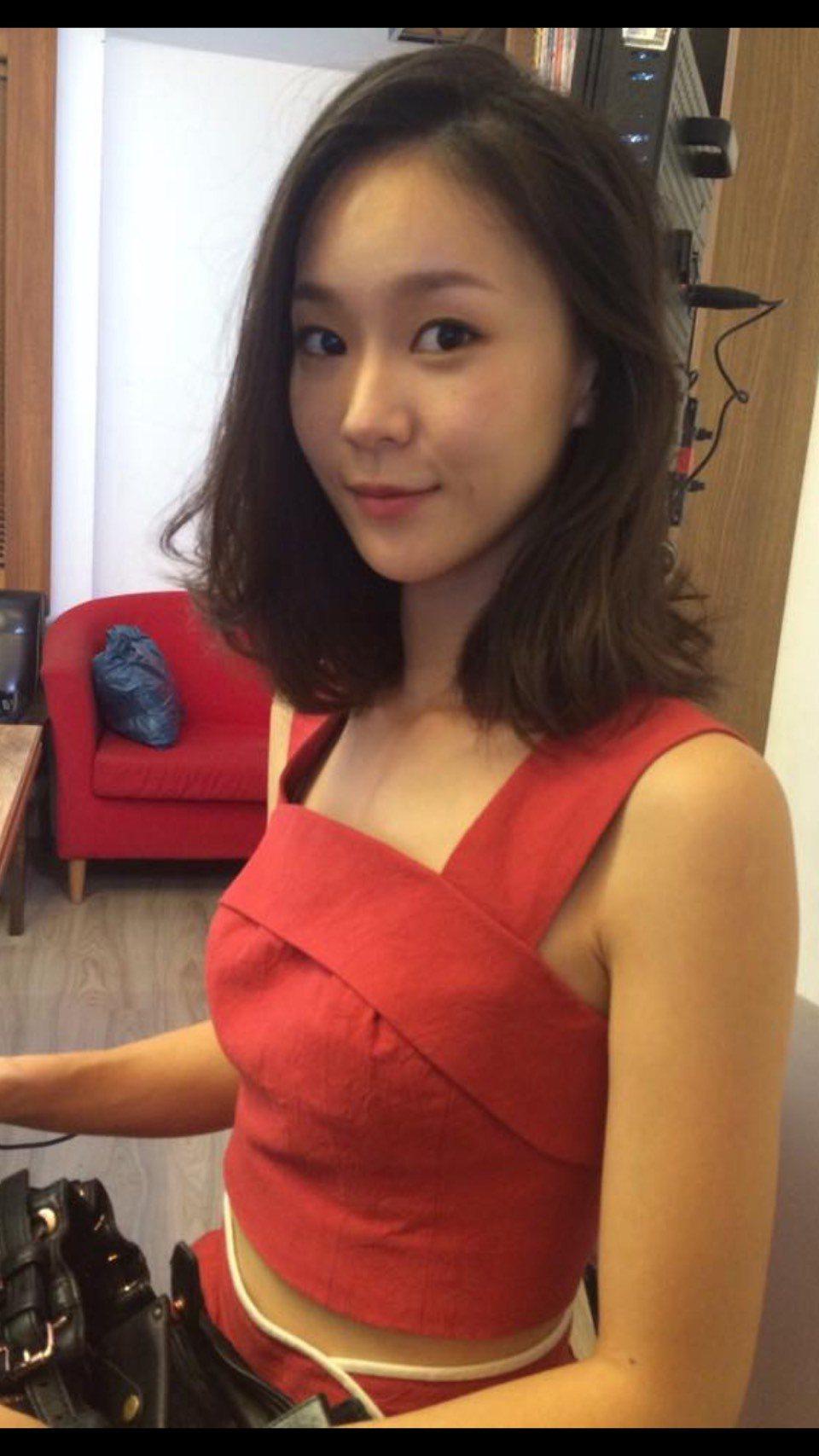 鍾瑤外表清新、氣質出眾。圖/摘自鍾瑤臉書