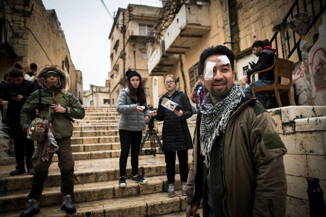 「麻醉風暴2」於約旦出外景,黃健瑋感觸良多。圖/公視提供