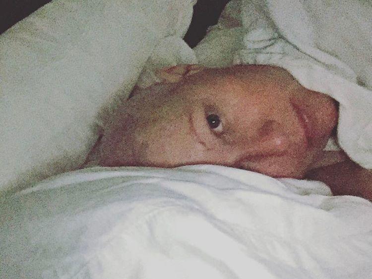 香儂道荷蒂宣布化療結束。圖/摘自Instagram