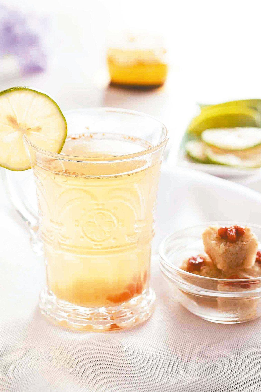 蜂蜜檸檬熱薑飲 圖/小貓流出版社