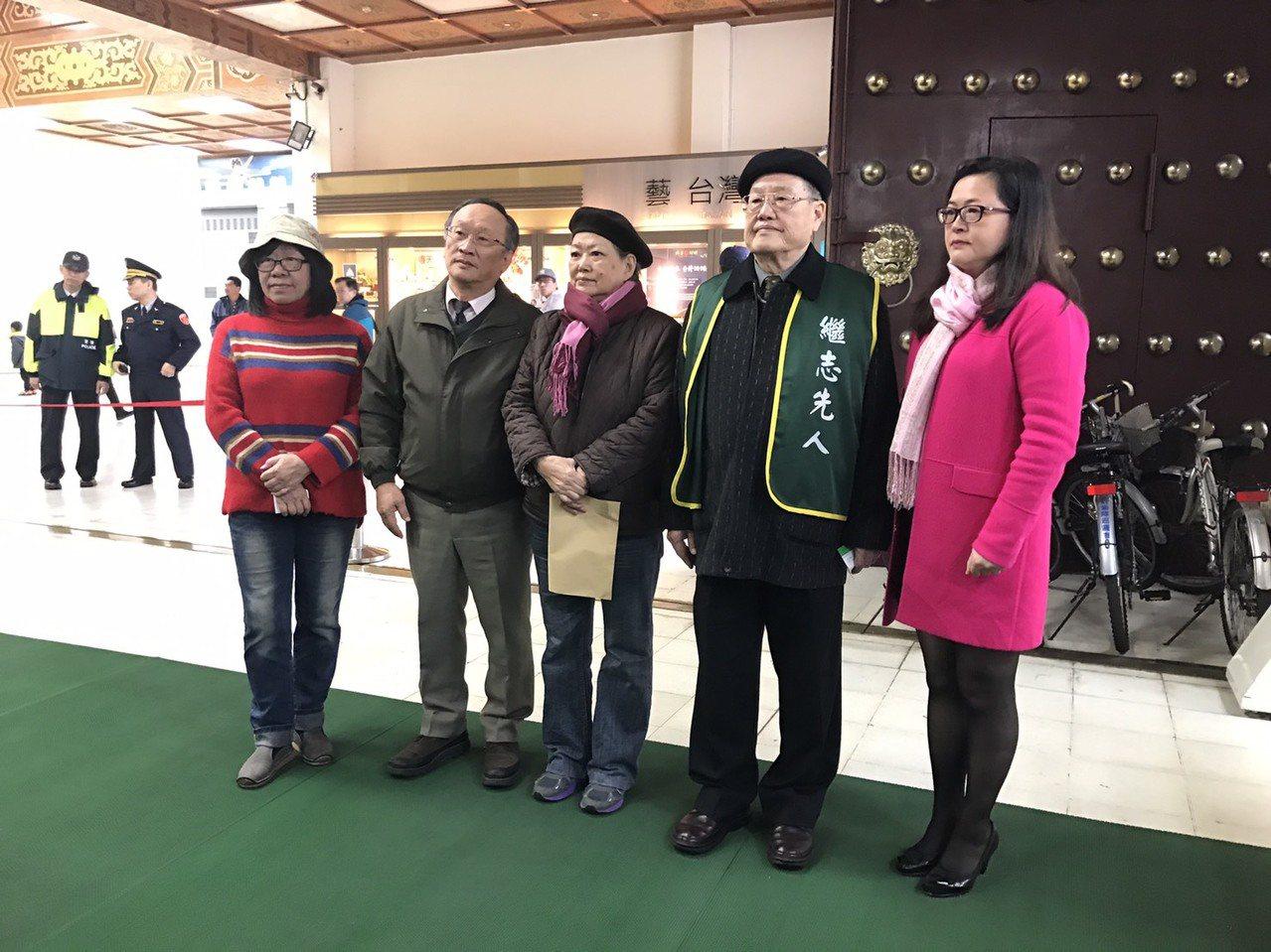 二二八事件70週年,受害者家屬們痛批前總統蔣介石就是兇手,台灣社會不該再紀念一個...