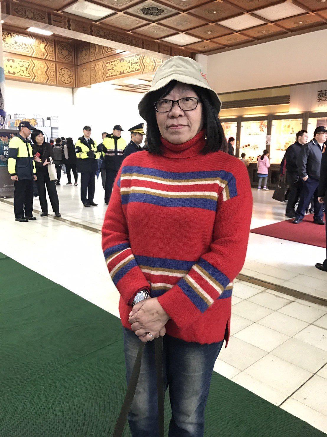 二二八關懷總會監事歐陽煇美的父親歐陽文,是知名畫家陳澄坡弟子,因參與水上機場抗議...