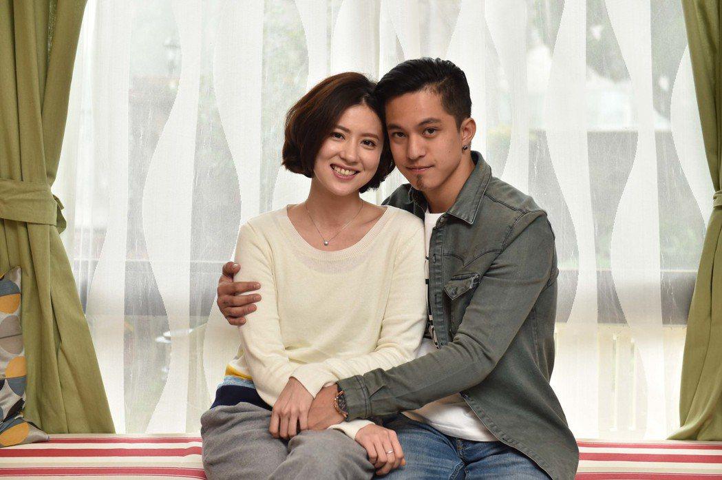 林予晞(左)與黃遠在「酸甜之味」中上演姊弟戀。圖/TVBS提供