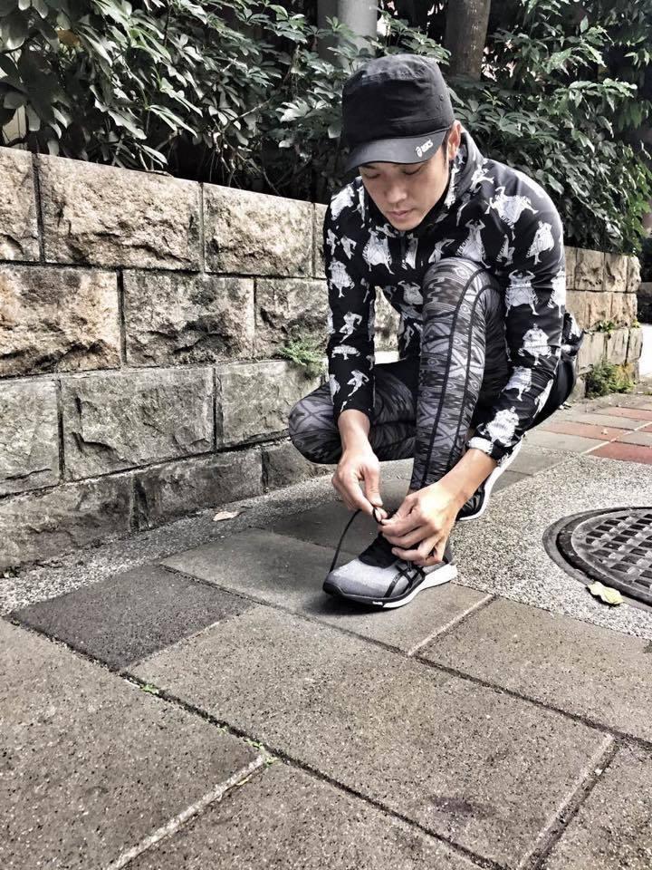 姚元浩喜外戶外活動。圖/摘自臉書