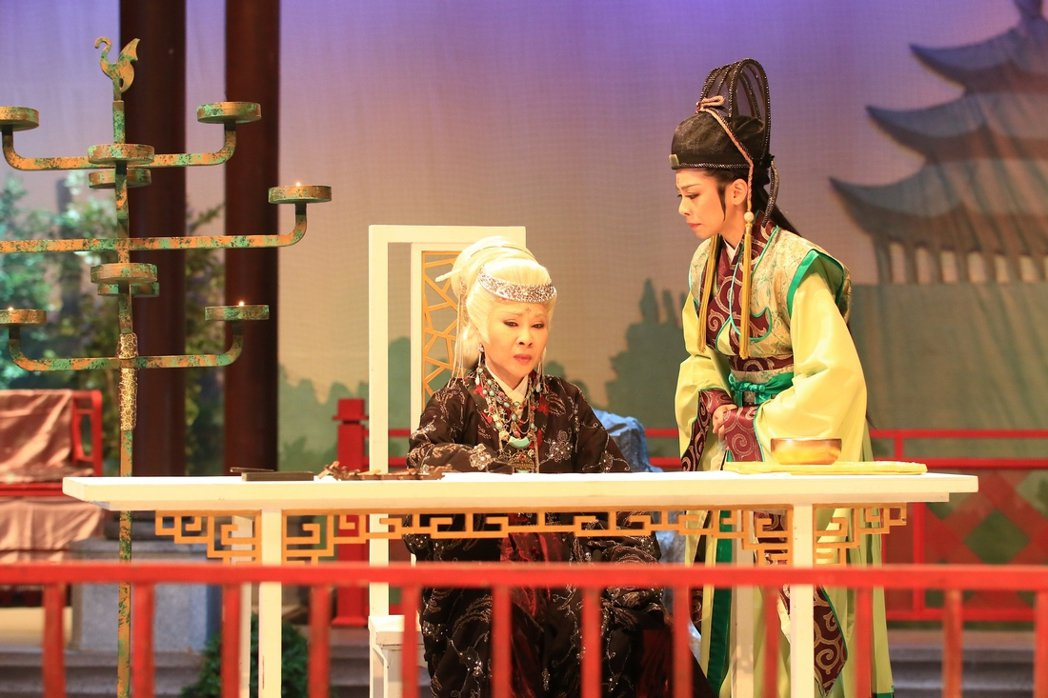 許秀年演出「六祖惠能」。圖/大愛提供
