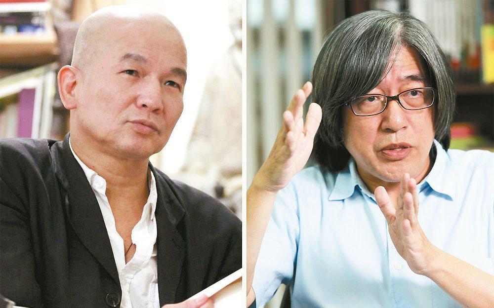 (左)楊澤。圖╱陳建仲攝影,楊澤提供(右)詹宏志。圖╱詹宏志提供